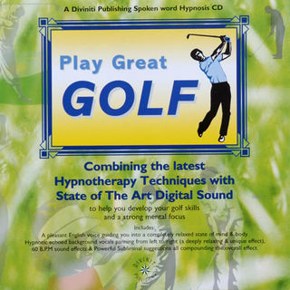 Play Great Golf CD by Glenn Harrold