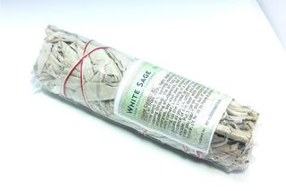 White Sage  Smudge Stick Small  (5-6 inches)