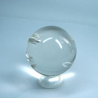High Quality Clear Quartz Sphere