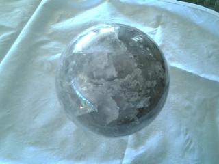 Huge Smokey Quartz Sphere