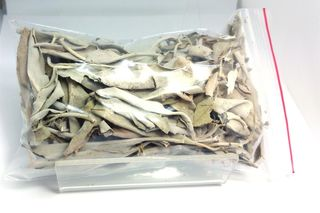 White Leaf SAGE Loose Leaf - 20gm bag