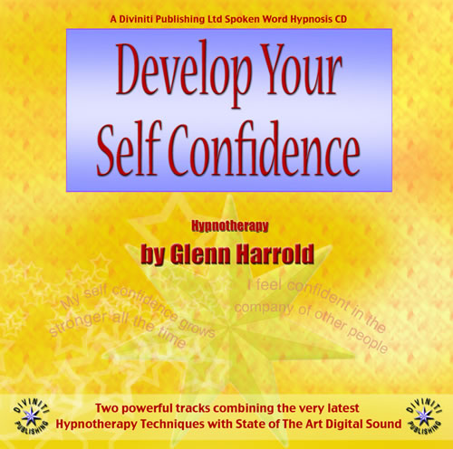 Develop Your Self Confidence CD by Glenn Harrold