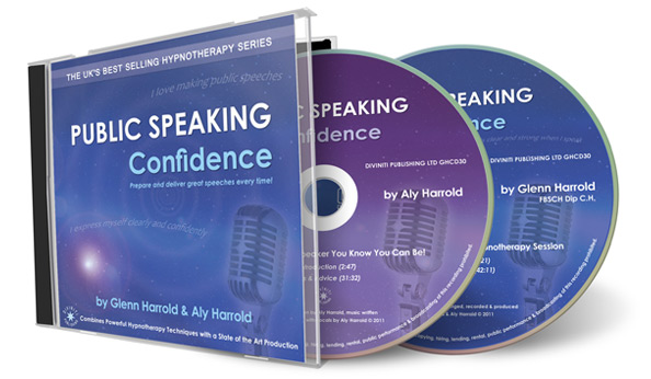 Public Speaking Confidence CD by Glenn Harrold